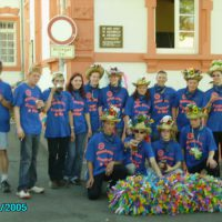 Kerb 2005 am alten Schulhaus